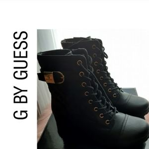 G by Guess combat boots!